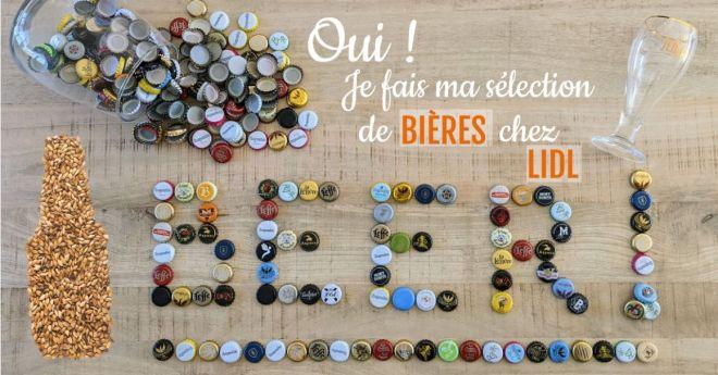 Sélection des meilleures bières chez Lidl