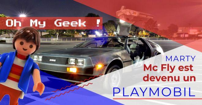 La gamme Playmobil Retour vers le futur