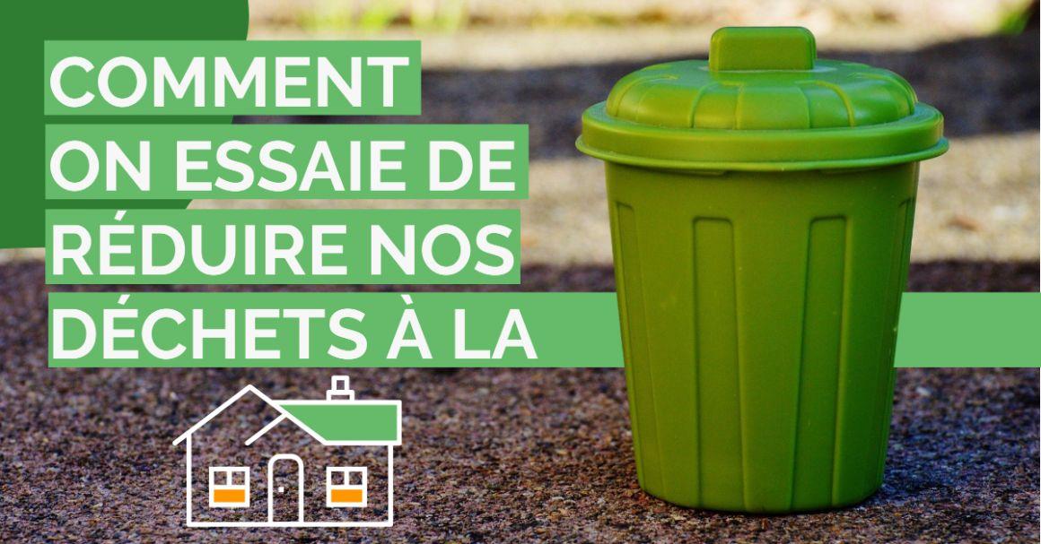 Réduire ses déchets à la maison